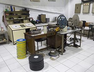 Sinematek Indonesia - The film maintenance room at Sinematek Indonesia
