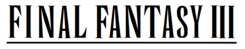 Final Fantasy III wordmark.png