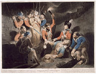 Finding the body of Tippoo Sultan - Samuel William Reynolds, 1800 - BL P428.jpg