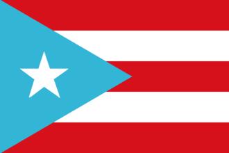 Rafael Cancel Miranda - Image: Flag of Puerto Rico (1895 1952)