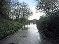 Flooded lane - geograph.org.uk - 87057.jpg