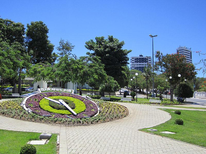 Floral clock - Garanhuns, Pernambuco, Brazil.jpg