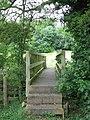 Footbridge over the River Tas - geograph.org.uk - 1363316.jpg