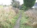 Footpath heading towards Beckfield Lane - geograph.org.uk - 1620275.jpg