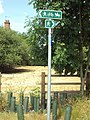 Footpath signs, Saughall - DSC06488.JPG