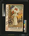 For the French Red Cross. Please help. July 14. France's day, in aid of the French Red Cross LCCN2003675259.jpg