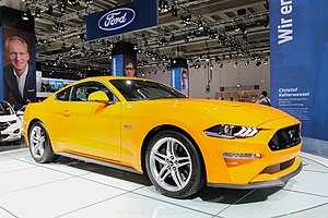 Ford Mustang - 2018 Ford Mustang facelift