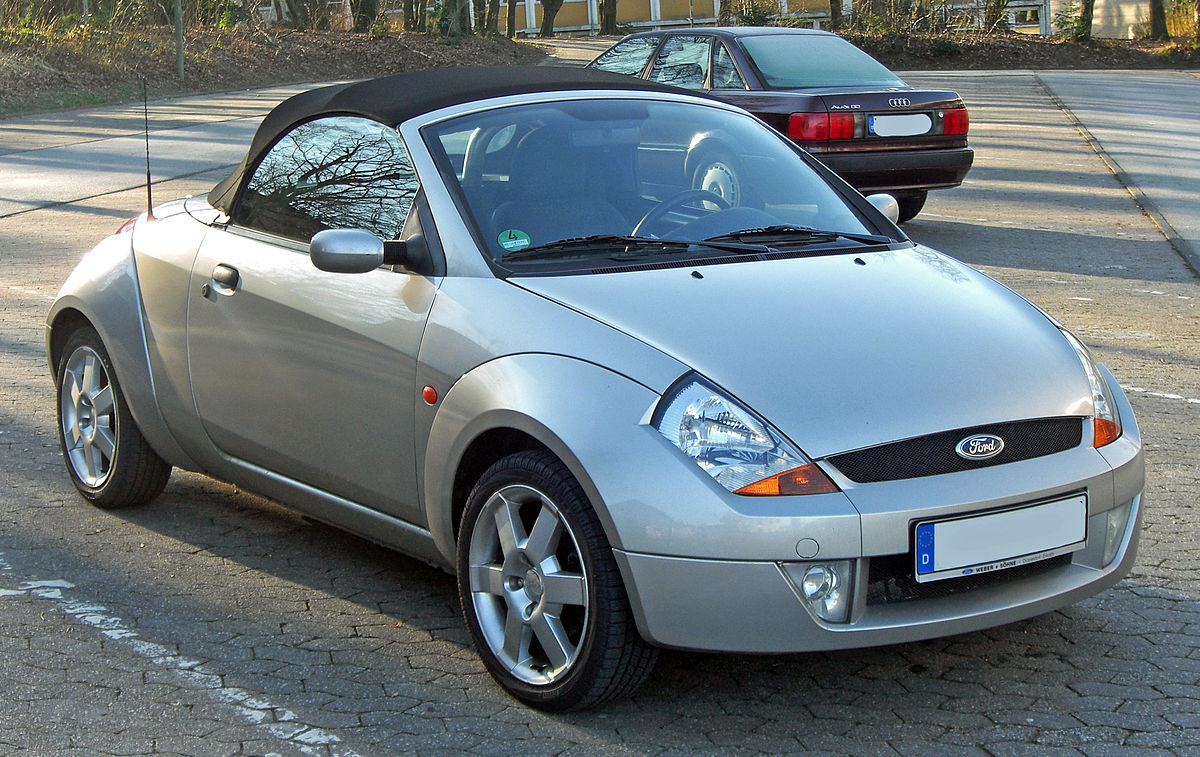 ford streetka wikipedia. Black Bedroom Furniture Sets. Home Design Ideas