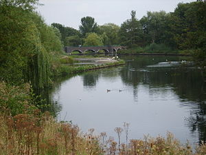 Kingfisher Country Park - Image: Fordbridge Meriden Park Lake
