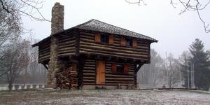 Fort Ouiatenon blockhouse