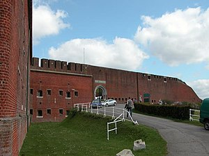 Grade II* listed buildings in Havant (borough) - Image: Fort Purbrook geograph.org.uk 2371