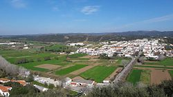 The nucleus of the civil parish of Aljezur, historical center and seat of the municipality