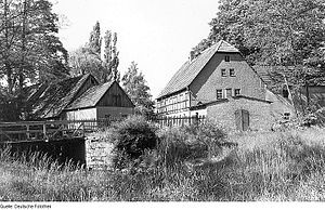 Schwepnitz - Bollbuck Mühle Cosel The Old Mill (1988)