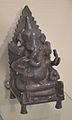 Four-armed Ganesha - Bronze - Circa 17th Century CE - Andhra Pradesh - ACCN 2000-94 - Indian Museum - Kolkata 2015-09-26 3999.JPG