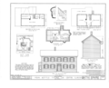 Four Bottle Tavern, Old Dixon-Chicago Pike, Lee Center, Lee County, IL HABS ILL,52-LEEC,1- (sheet 1 of 2).png