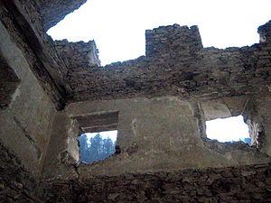 Fracstein Castle - Image: Fracstein West