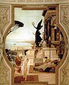 """Fragment of the ceiling """"Before the theater in Taormina"""".jpg"""
