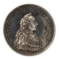 Framsida av medalj med bild av Gustav III, 1777 - Skoklosters slott - 99545.tif