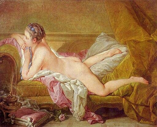 François Boucher, Ruhendes Mädchen (1752) - 02