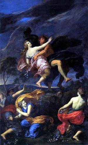 François-Alexandre Verdier - Image: François Verdier Boreas Abducting Oreithyia 1688