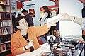 Françoise Foliot - Salon du Livre 1996 - Brigitte Aubert 001.jpg