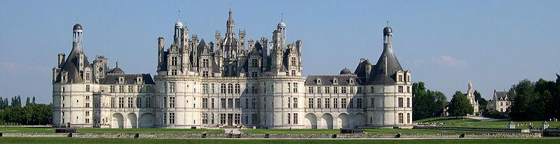 Ficheiro:France Loir-et-Cher Chambord Chateau panorama.jpg