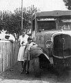 Franciaország. A Star Bus társaság Cannes - Nice közötti menetrendszerűen közlekedő, Delahaye típusú autóbusza. Fortepan 19481.jpg