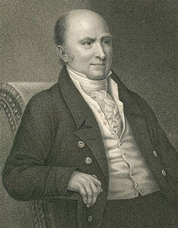 English: , John Quincy Adams the sixth preside...
