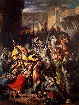 Francisco Lameyer - Assault of the Moors