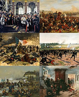 Franco-Prussian War Conflict between the Kingdom of Prussia and several other german kingdoms and (grand) duchies and the Second French Empire
