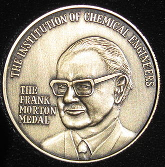 Institution of Chemical Engineers - The Frank Morton Medal of the Institution of Chemical Engineers. Awarded biennially for outstanding service to chemical engineering education.
