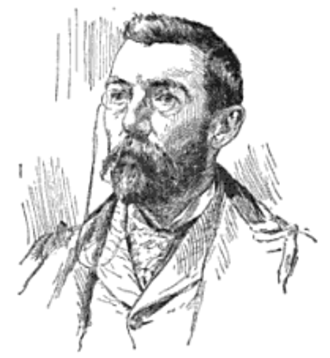 Frank Ver Beck -  Drawing of Ver Beck, 1894