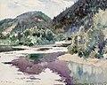 Frank W. Benson - St. Marguerite River (1922).jpg