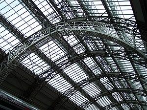 Johann Wilhelm Schwedler - Southern train shed, Frankfurt (Main) Hauptbahnhof