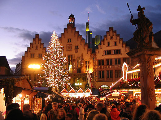 Kerstmarkt in Frankfurt am Main