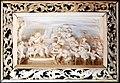 Franz I e dominikus stainhart su dis. di carlo fontana, scrigno in ebano con bassorilievi in avorio, roma 1680, 03.jpg
