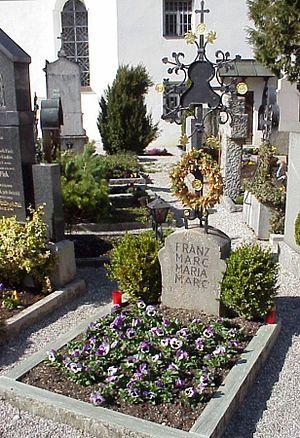 Tombo de Franz Marc en Kochel