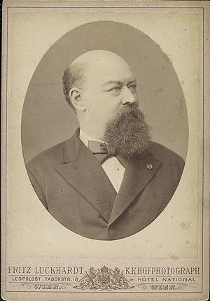 Franz von Suppé - Publicity photo of Franz von Suppė, taken by Fritz Luckhardt