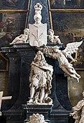 Frari (Venice) interior facade - Monument to Girolamo Garzoni.jpg