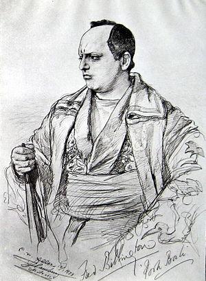 Fred Billington - Billington as Pooh-Bah (1888)