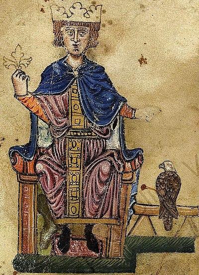 Federico II Hohenstaufen.