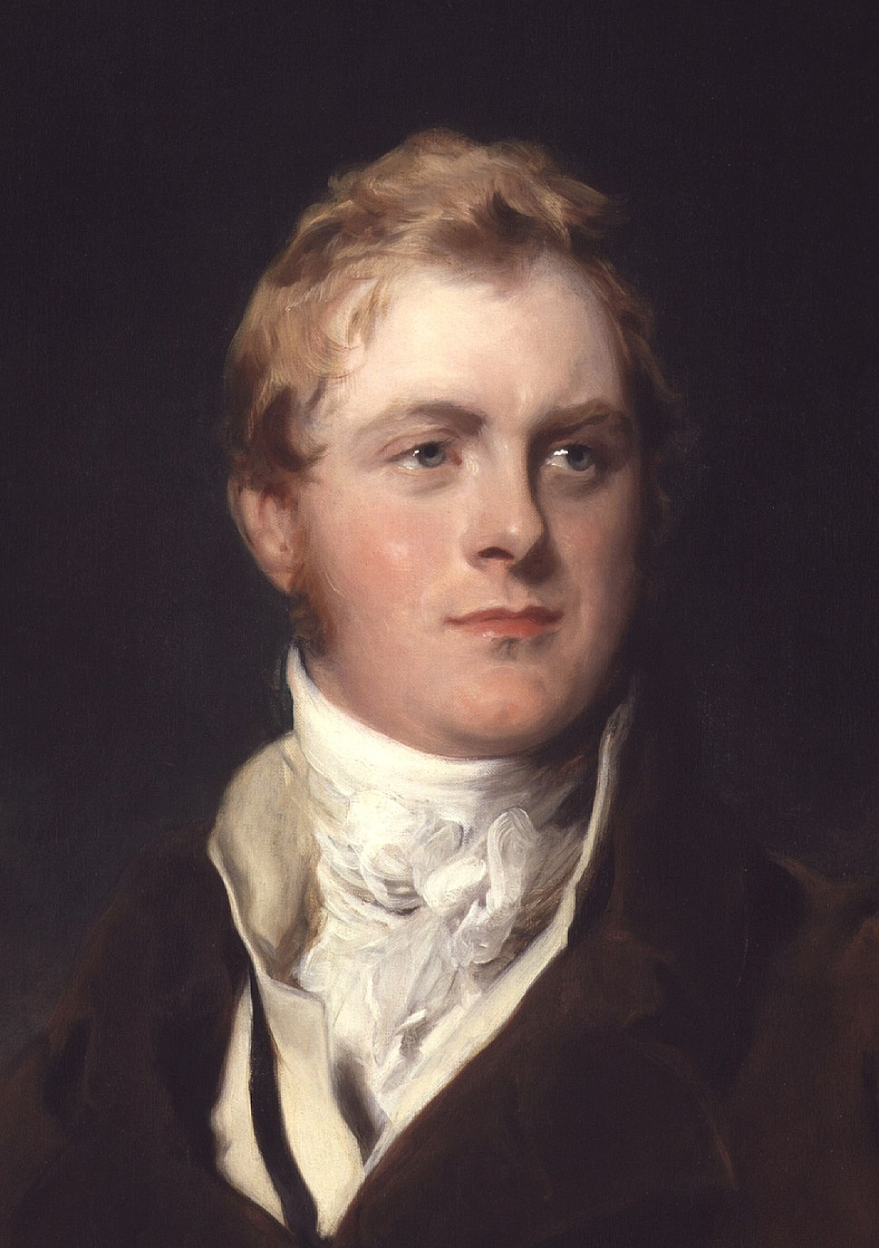 Frederick John Robinson, 1st Earl of Ripon by Sir Thomas Lawrence cropped