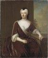 Fredrika Albertina, 1682-1755, hertiginna (Balthasar Denner) - Nationalmuseum - 16012.tif