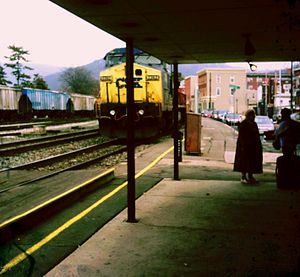 Freight at Cumberland Amtrak station.jpg