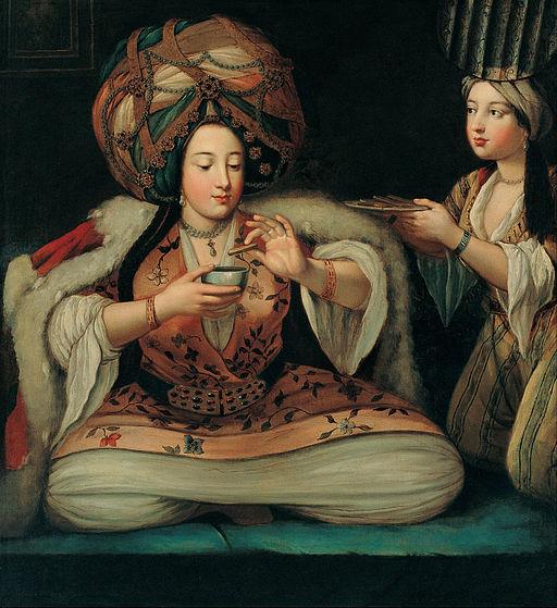 French School - Enjoying Coffee - Google Art Project