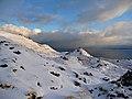 Fresh snow below the Storr - geograph.org.uk - 1601101.jpg