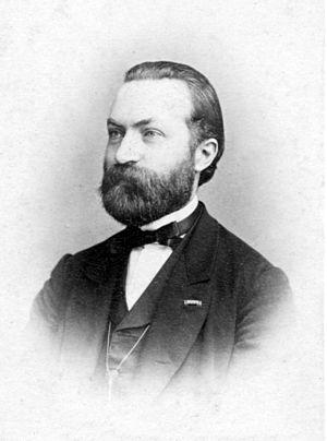 Friedrich Grützmacher - Portrait of Friedrich Wilhelm Grützmacher