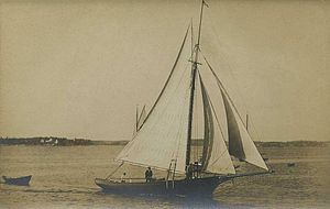 Friendship Sloop - Friendship Sloop in c. 1920