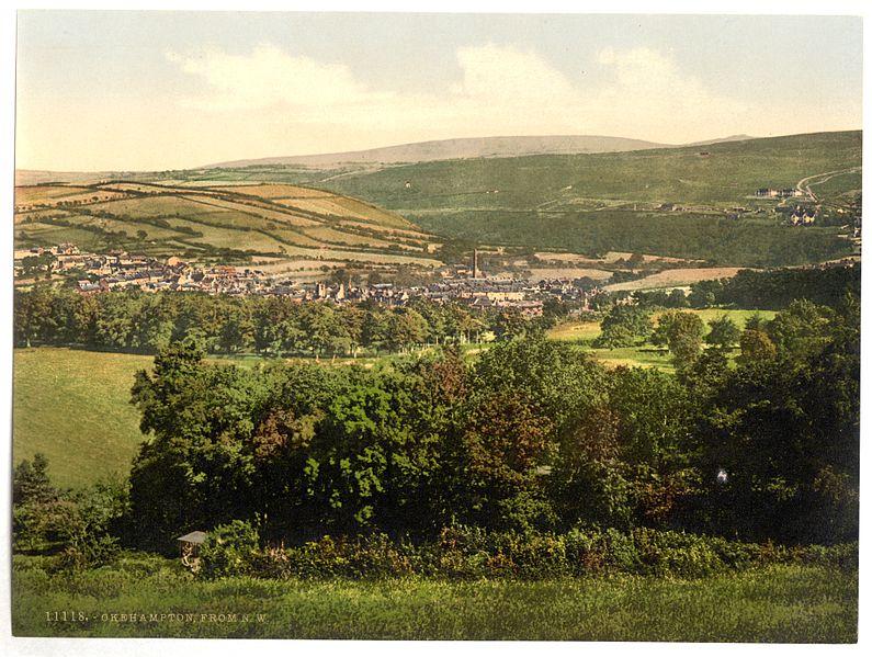 File:From N. W., Okehampton, England-LCCN2002708018.jpg