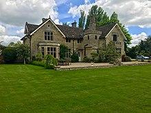 Tudor Farmhouse Family Room